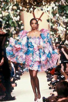 YSL HC Hedi Slimane, Christian Dior, Yves Saint Laurent Paris, Bachelor's Degree, French Fashion Designers, 80s Dress, Costume, Vintage Couture, Floral Fashion
