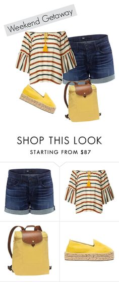 Weekend Getaway by sophisticatedfashionista on Polyvore featuring Lollys Laundry, 3x1, Manebà and Longchamp