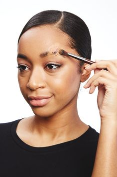 Create a fake 3D wound with just a glue stick, your foundation, and your favorite dark eyeshadows and lipsticks.