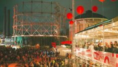 Flow Festival is a leading European music and arts boutique festival taking place in a historic power plant area in the capital of Finland, Helsinki. Helsinki, Finland, Cool Pictures, Flow, Fair Grounds, Europe, Festivals, Music, Musica