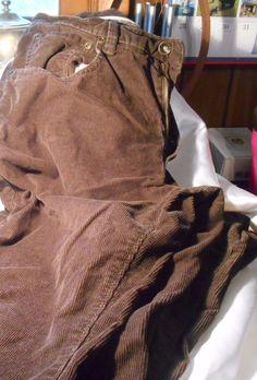 Sonoma Life Style Men's Corduroy Pants Dark Brown Size 34 X 32 Gently Used #Sonoma #Corduroys
