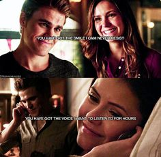 Paul Wesley Vampire Diaries, Vampire Diaries Stefan, Vampire Diaries Quotes, Vampire Diaries Cast, Vampire Diaries The Originals, Tv Shows Funny, Best Tv Shows, Bonnie And Enzo, Baby Netflix