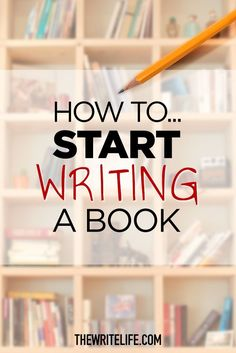 How to start writing a book. #amwriting