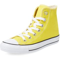 cddd56a2c91d Converse Chuck Taylor All Start Citrus Hi Top ( 39) ❤ liked on Polyvore  featuring