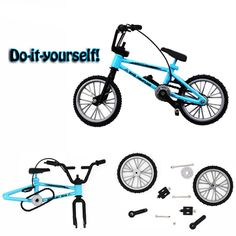 New Functional Finger Mountain Bike BMX Fixie Bicycle Boy Toy Creative Game #Unbranded