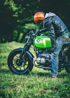 BMW R65 Green Hulk