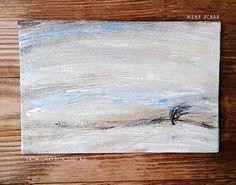 """Wind"". Paint by Yasnaya Jane\ painting, landskape, acril"