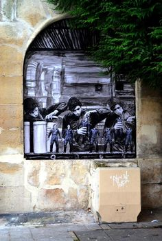 The factory by Levalet
