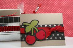 Cute cherry card. I like them layered on the black.