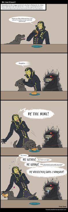 By the Eight! by FoolishLittleMortal