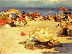 Rockaway Beach ~ Edward Henry Potthast