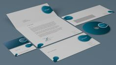 DOA Stationery & Business Card Mock Up by design on arrival , via Behance