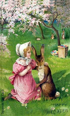 1000 Images About Vintage Easter Cards On Pinterest