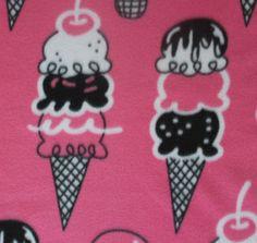 Blizzard Fleece Fabric-Triple Scoup