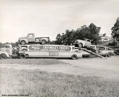 1950s Chev Pickups - Racing Champions Diecast Models