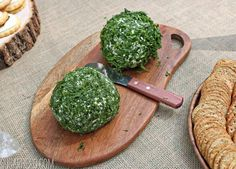 """Herb-crusted """"mossy"""" cheese balls for a Where the Wild Things Are Party   SugarHero.com"""