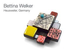 Bettina Welker's brooch