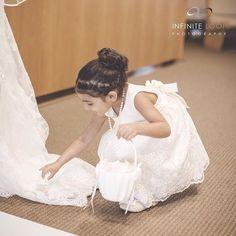 We love our little helpers #ILPWeddings #FlowerGirl #SouthFloridaWedding