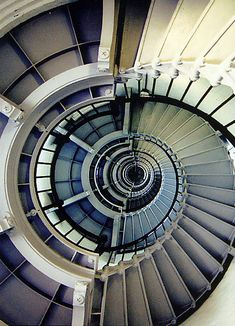 Inside View of a Lighthouse