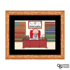 Come buy gifts at an affordable price and low shipping. We feature music gifts, occupation themed gifts and hundreds of unique gifts for everyone. Michael Thomas, Lawyer Gifts, Personalised Frames, Music Gifts, Lawyers, Unique Gifts, Gift Ideas, Cartoon, Funny