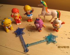 Rainbow Brite 1983 8 PC Sprites Dog Horse Girl Boy Wands Twink Glee Red Butler | eBay