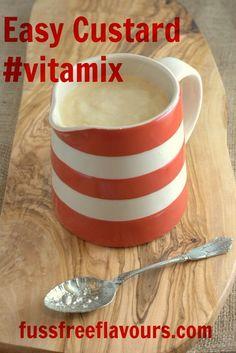 Vitamix Custard - Fuss Free Flavours