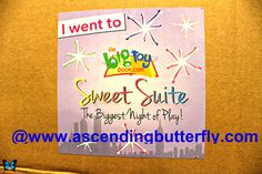 Sticker from my 'big box of awesome' swag BOX from Blogger Bash Sweet Suite 2014 NYC Blogging Conference - http://www.ascendingbutterfly.com/2014/08/to-bloggerbashnyc-with-love.html