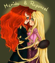 (Fan art) Merida, Rapunzel, Jack et Hiccup - The Big Four - Page 13