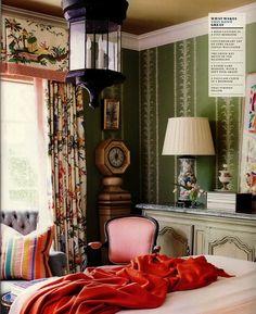 Outstanding room decor. Aesthetic Oiseau: