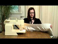 How To Line Your Curtains -- with drapery pleats.    Buy drapery pleat tape - http://www.draperysewingsupplies.com/Pleat-Tape-s/12.htm    Buy drapery pins - http://www.draperysewingsupplies.com/Drapery-Pins-s/7.htm
