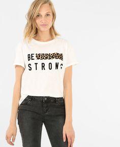 Shirt Refashion, T Shirt Diy, Chemise Fashion, Animal Print T Shirts, Buy T Shirts Online, Winter T Shirts, Blouses For Women, T Shirts For Women, T Shirt Painting