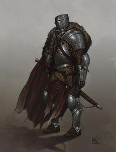 Knight Errant, David Escribano Herrero on ArtStation at https://www.artstation.com/artwork/knight-errant