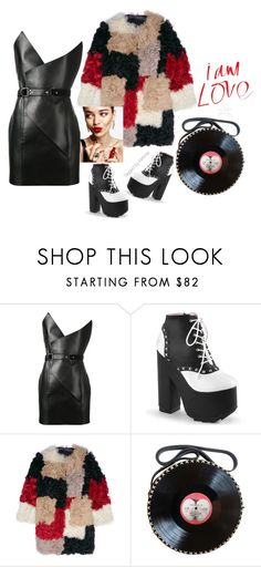 """""""I am love"""" by taggedbykimmie15 on Polyvore featuring Yves Saint Laurent, Marni and KAROLINA"""