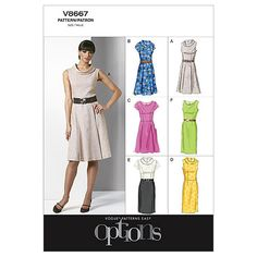 Mccall Pattern V8667 Bb (8-10-1-Vogue Patternnull