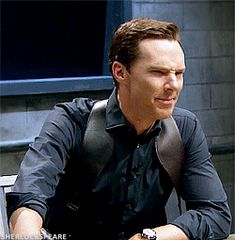 [GIF] Benedict Cumberbatch in Mad Lib Theater sketch. THE TONIGHT SHOW STARRING JIMMY FALLON. November 3, 2016.