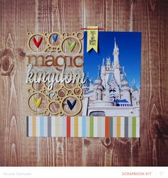 Magic Kingdom *main kit only* by NicoleS at @Studio_Calico #SCcoppermountain
