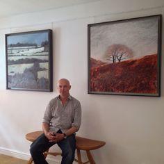 Andrew Lansley delivers two new paintings to Twenty Twenty Gallery