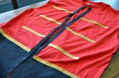 Tricks of the Mommy Trade: Captain Hook No-Sew Vest