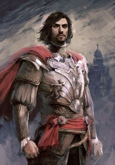 A depiction of Caesare Borgia, from the Assassin's Creed game series. A fantastic bad guy!