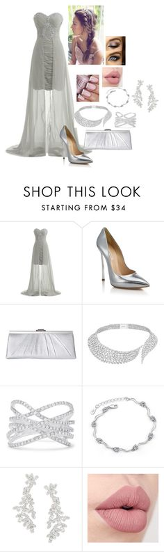 Untitled #130 by johanna-kat on Polyvore featuring Casadei, Jessica McClintock, Kate Spade, Messika and Effy Jewelry