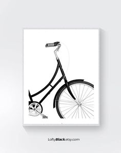 Items similar to bike poster, cycling poster, bike print, bicycle art, bicycle art, cyclist gift, bike gift, bike art print, vintage bicycle, black and white on Etsy