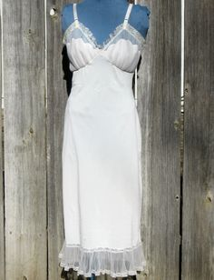 Vintage Slip.  They were so pretty it didn't matter what your dress looked like. You felt exceptional!