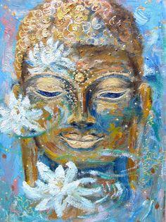 Buddha Painting, Gautama Buddha, Pictures To Paint, Yoga, Art, Kunst, Art Background, Performing Arts, Art Education Resources