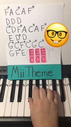 Piano Music Easy, Piano Sheet Music, Good Music, Crazy Funny Videos, Stupid Funny Memes, Mashup Music, Guitar Songs, Ukulele, Music Jokes