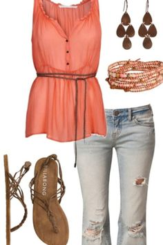 Cute summer outfit !