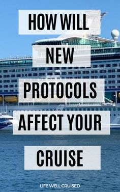 How will new protocols on cruise ships affect an upcoming cruise? What you need to know Alaska Cruise Tips, Cruise Packing Tips, Cruise Travel, Cruise Vacation, Disney Cruise, Caribbean Cruise Ships, Best Cruise Ships, Cruise Excursions, Cruise Destinations