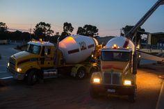Mawsons concrete trucks  www.mawsons.com.au