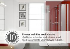 Stylish and easy to fit shower panels. Revamp your bathroom with our hygienic and waterproof shower panels.