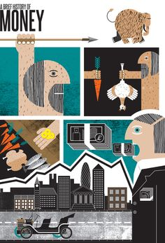 Clear As Mud: www.folioart.co.uk/illustration/folio/artists/illustrator/clear-as-mud - Agency: www.folioart.co.uk - #illustration #art #digital #money