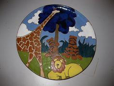 Hey, I found this really awesome Etsy listing at https://www.etsy.com/listing/80146140/judy-miller-decorative-plate